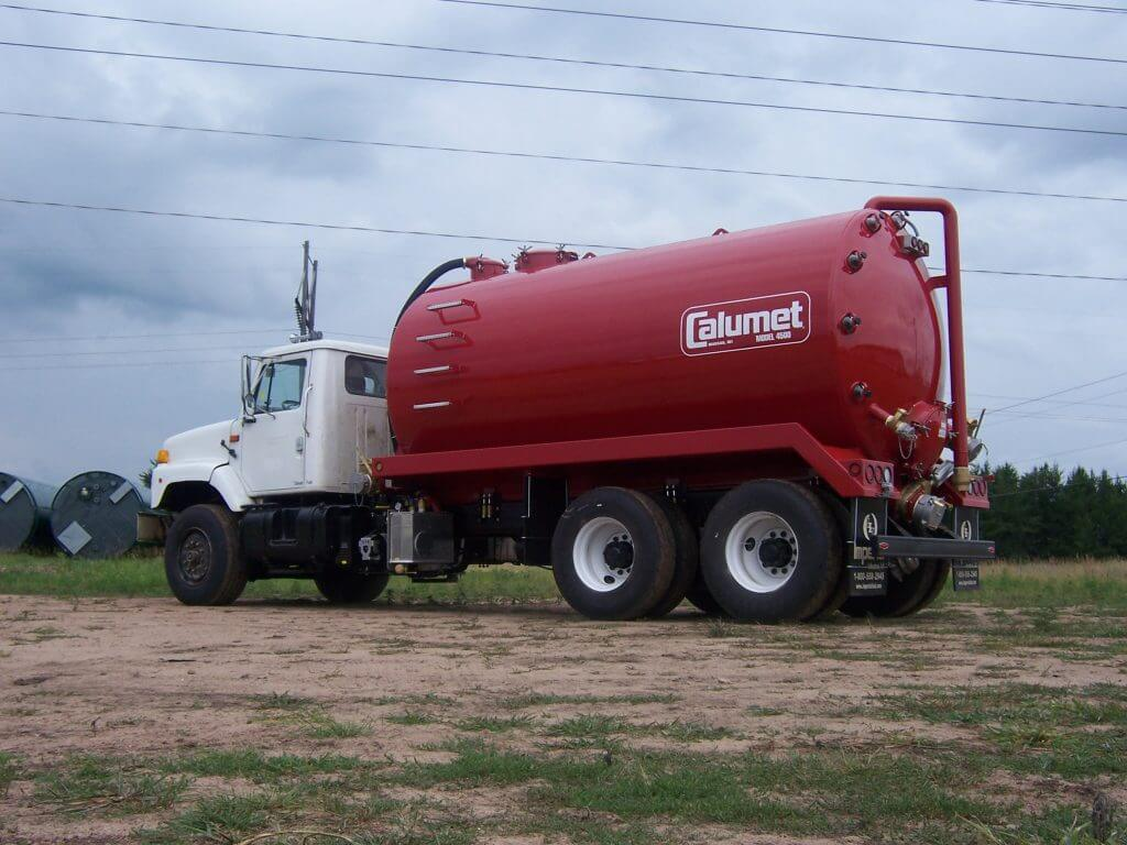 Truck Mounted Vacuum and Spreader Tanks