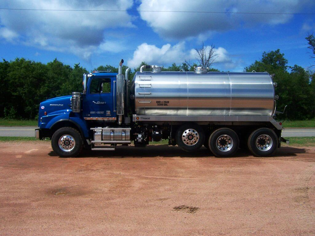 Septic Truck Truck Mount Tank Manufacturer Imperial