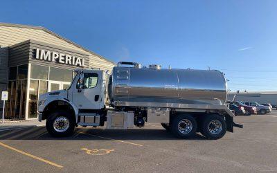 2020 Freightliner M2 4000 Gallon Aluminum Tank Truck