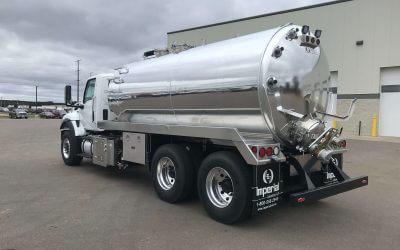 2020 International HV 4000 Gallon Aluminum Tank Truck