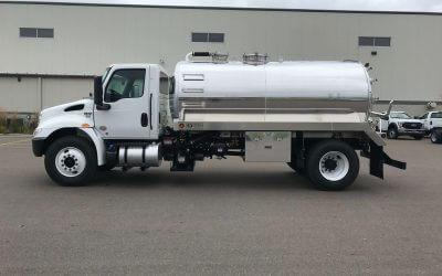 2020 International MV 2500 Gallon Aluminum Tank Truck