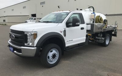 Ford Portable Restroom Service Unit Truck