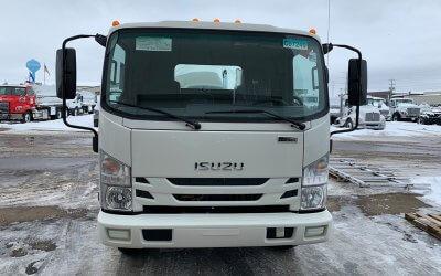 2020 Isuzu NRR 1300 Gallon Aluminum Tank Portable Restroom Service Truck