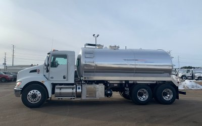 2020 Kenworth TMV4000A 4000 Gallon Aluminum Tank Septic or Grease Truck Package