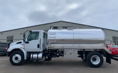 2020 International 2500 Aluminum Tank Septic or Grease Truck Package