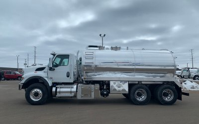 2020 International 4000 Gallon Aluminum Tank Septic or Grease Truck Package